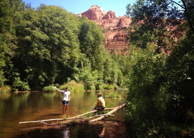 At the River in Sedona