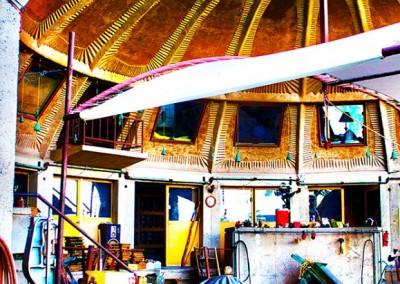 Arcosanti Half Dome Ceiling