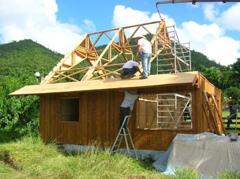 Bamboo Built House