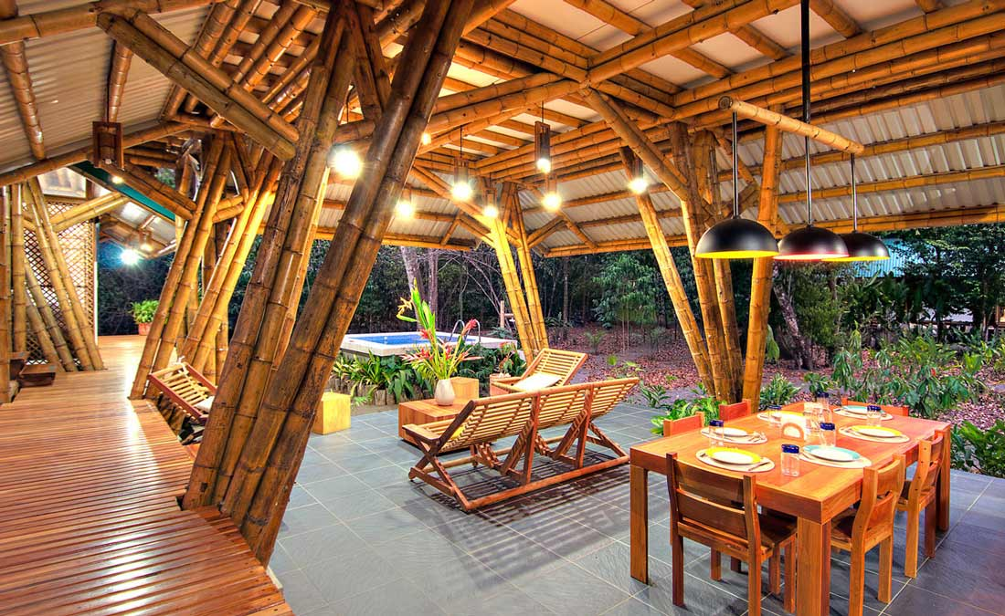 Bamboo construction techniques