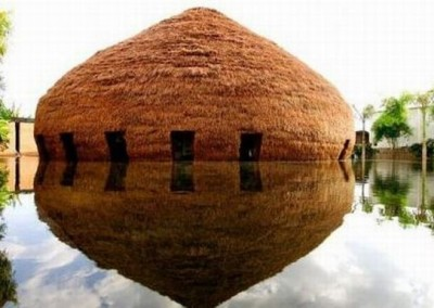 Bamboo Dome House