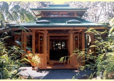Bamboo House Exterior