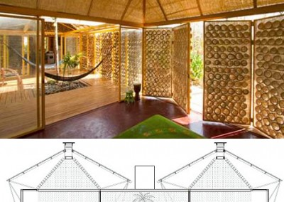 Bamboo Interior and Doors
