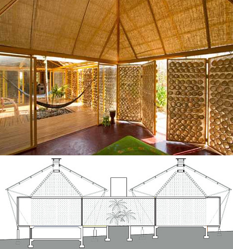 bamboo interior and doors - Bamboo Canopy 2015