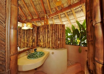 Bamboo Outdoor Bath