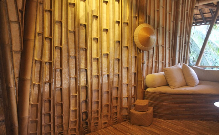 Bamboo kirk nielsen for Bamboo roofing materials
