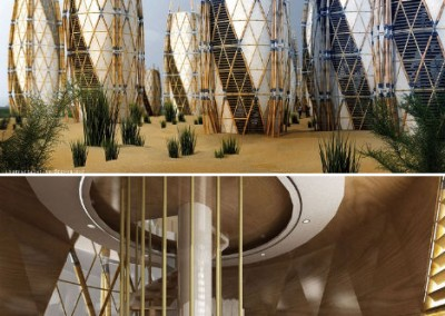 Bamboo Cocoon Buildings