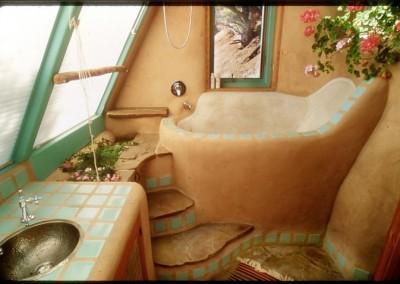 Cob House Bathtub