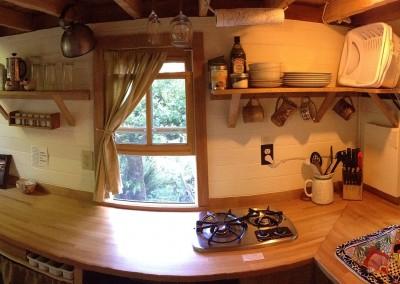 Cob House Kitchen Counter