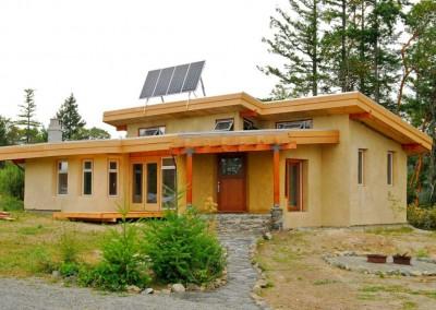 Cob House Modern Stoltz