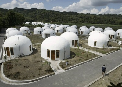 Community 70 Dome Houses Yogyakarta Indonesias