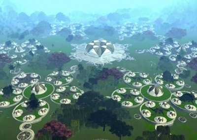 Community NewEarth Dome Villages