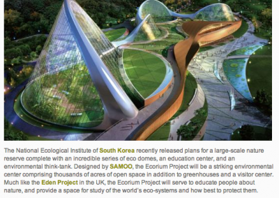 Dome Commercial So Korea Eco Education Center