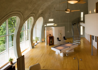 Dome Home Interior 1