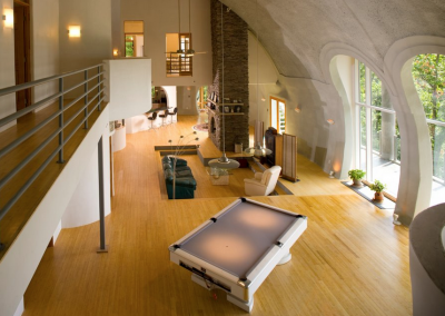 Dome Home Interiors | Domes Monolithic Kirk Nielsen