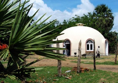 Dome with Landsacping