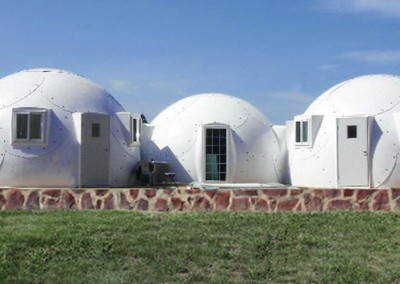 Domes Prefabricated Insta Dome Shelters