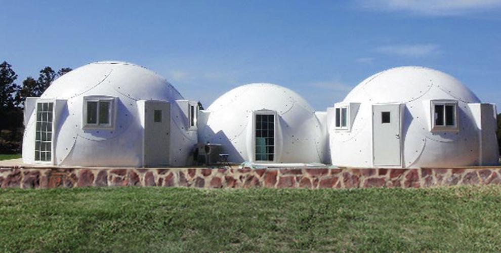 Domes Prefabricated | Kirk Nielsen