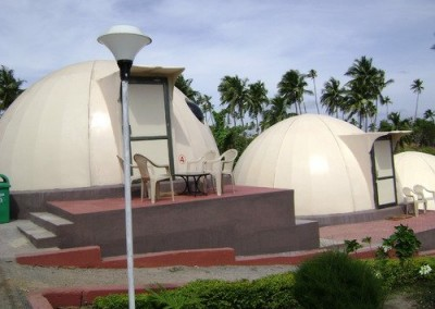 Domes Prefeabricated Sugar FRP Shelters in India