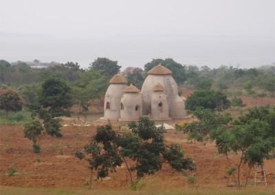 Earthbag African House