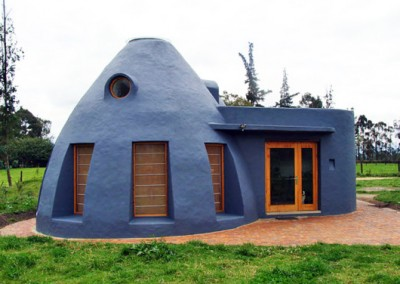 Earthbag Home - Jose Andres Vallejo