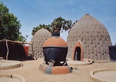Earthbag House in Cameroon