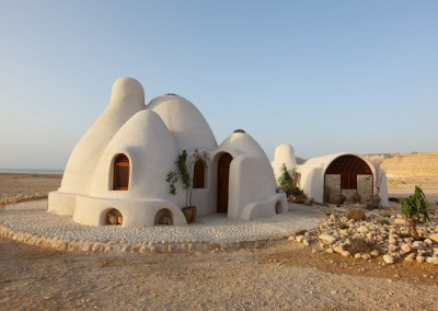 Earthbag Home in Dessert