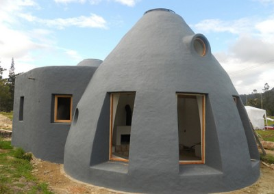 Earthbag Modern Home