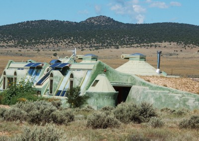 Earthship Home New Mexico