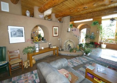 Earthship Interior 1
