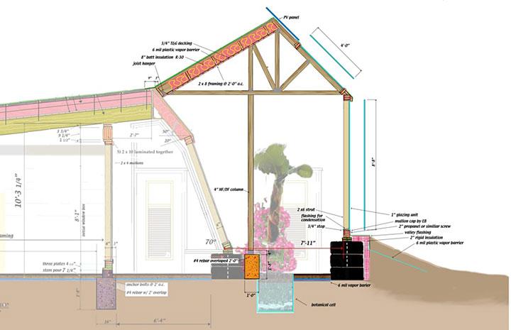 Earthship Home Floor Plans: Kirk Nielsen