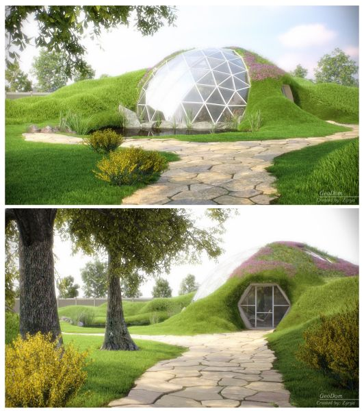 Project Gridless Geodesic Homes: Domes Geodesic