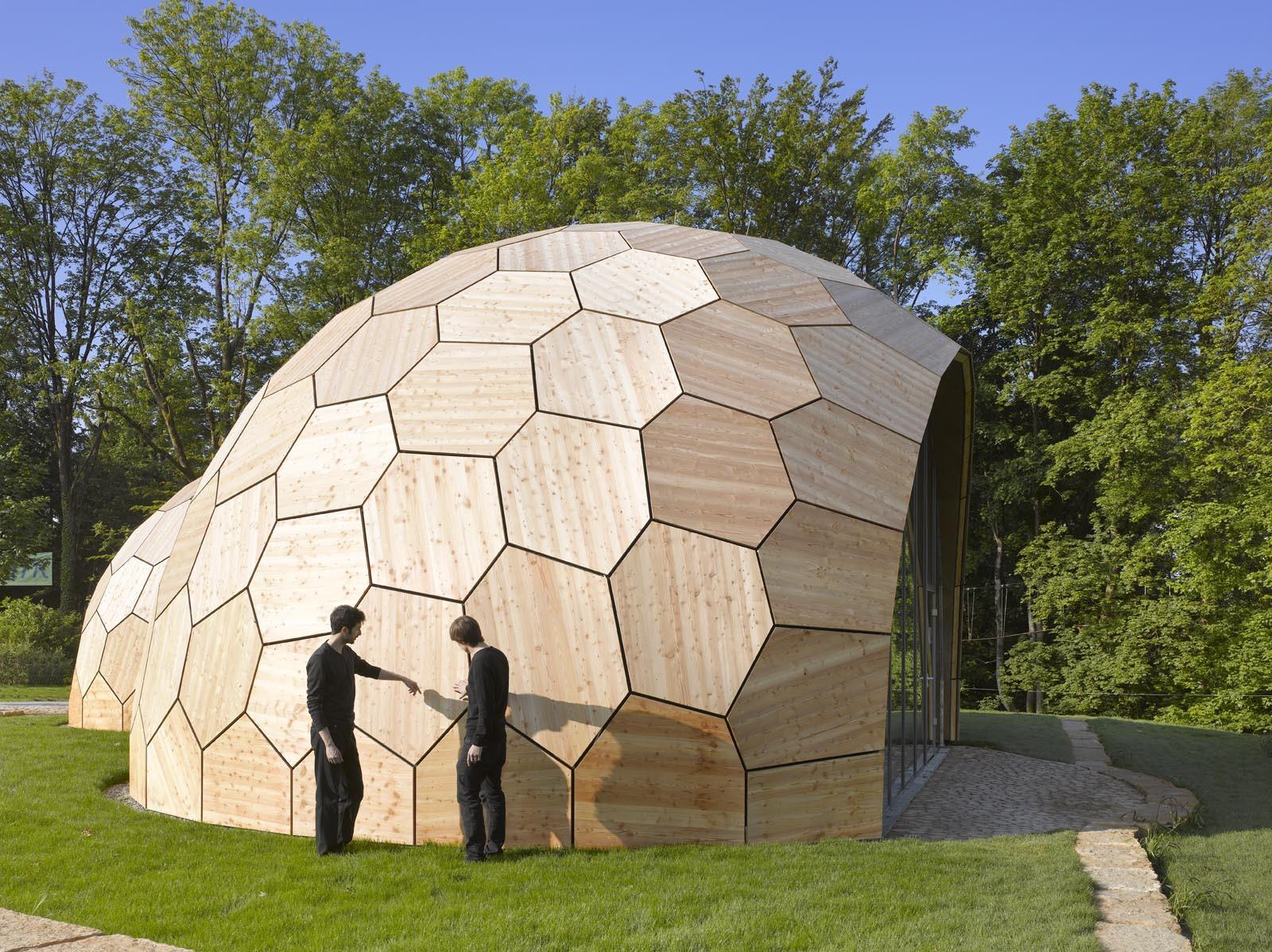 Modular Homes Interior Domes Geodesic Kirk Nielsen