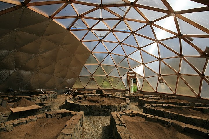 Geodesic Dome Greenhouse 4