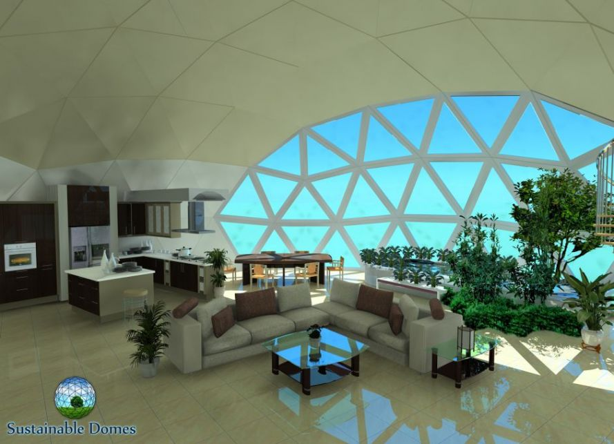 Domes geodesic kirk nielsen for Geodesic home plans