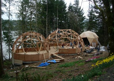 Geodesic Dome Home Construction 2