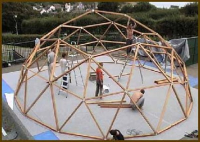 Geodesic Dome Home Construction