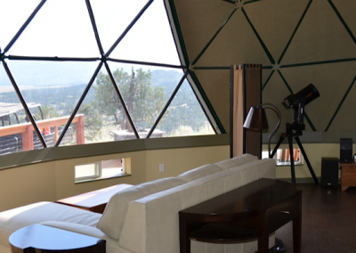 Geodesic Dome Home Interior 2