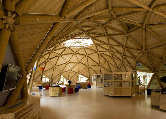 geodesic dome home interior kirk nielsen
