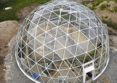 Geodesic Dome Home in Norway