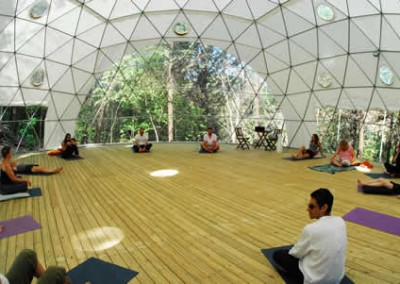 Geodesic Dome Interior 3