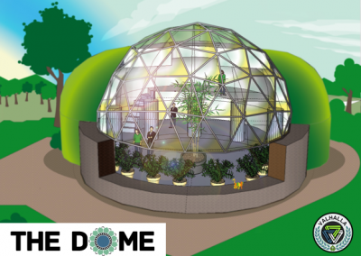 Geodesic Dome Underground North Side