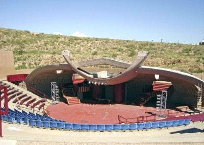 Paolo Soleri Amphitheater IN New Mexico