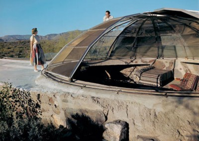 Paolo Soleri Glass Doome Home