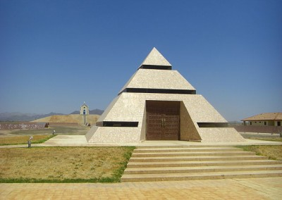 Pyramid Center of the World