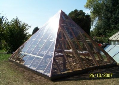 Pyramid Greenhouse