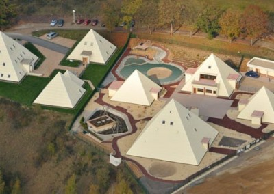 Pyramids at Galileo-Park : Sauerland Germany 1