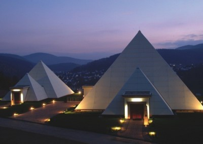 Pyramids at Galileo-Park : Sauerland Germany 2