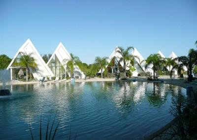 Pyramids in Florida Hotel
