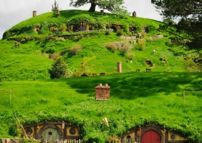Underground Hobbit House Movie Set